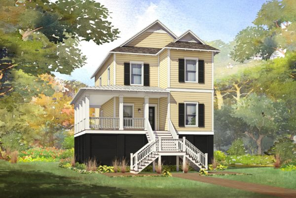 cedar ridge modular home rendering