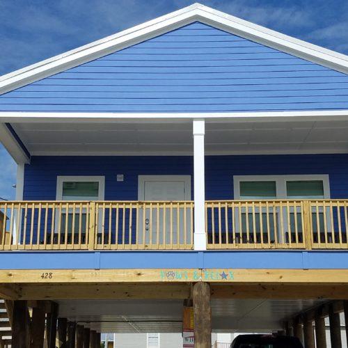 affinity custom home exterior