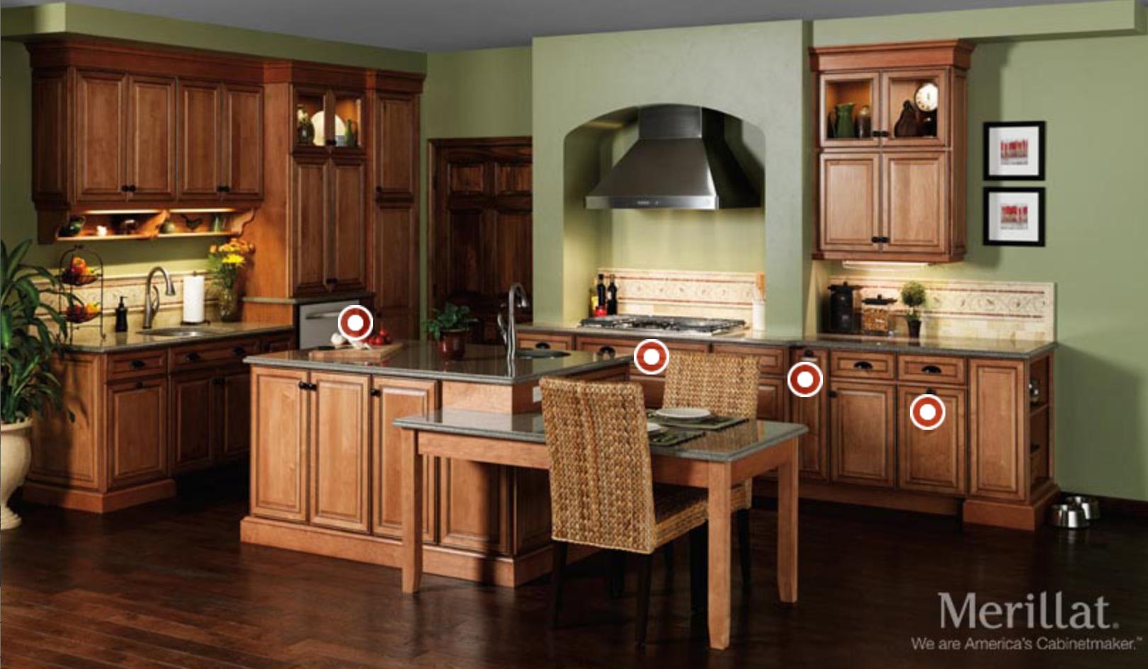 merillat cabinets interactive image