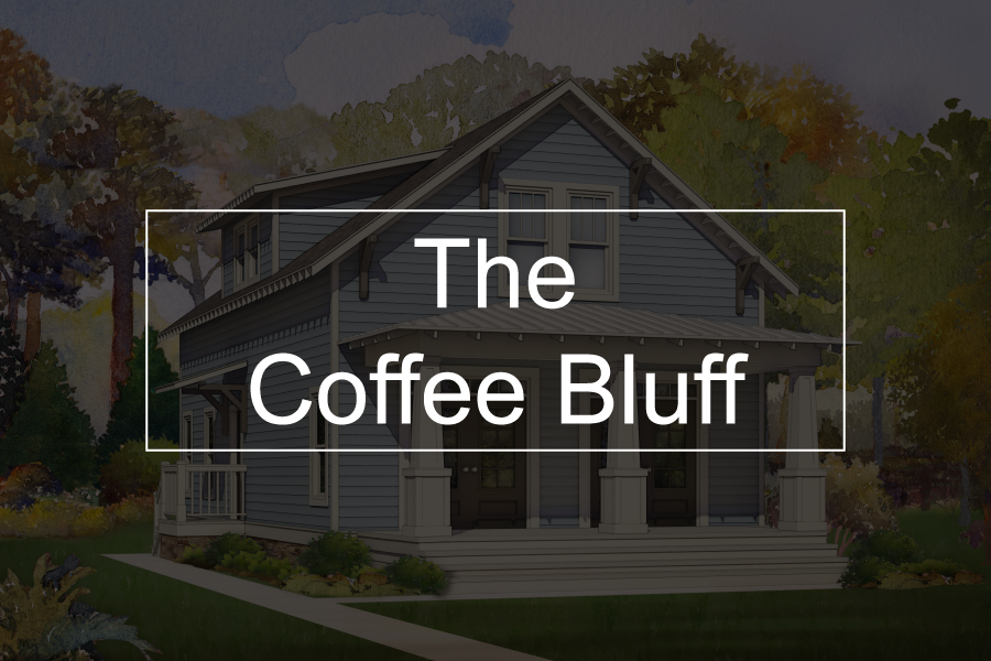 coffee bluff button