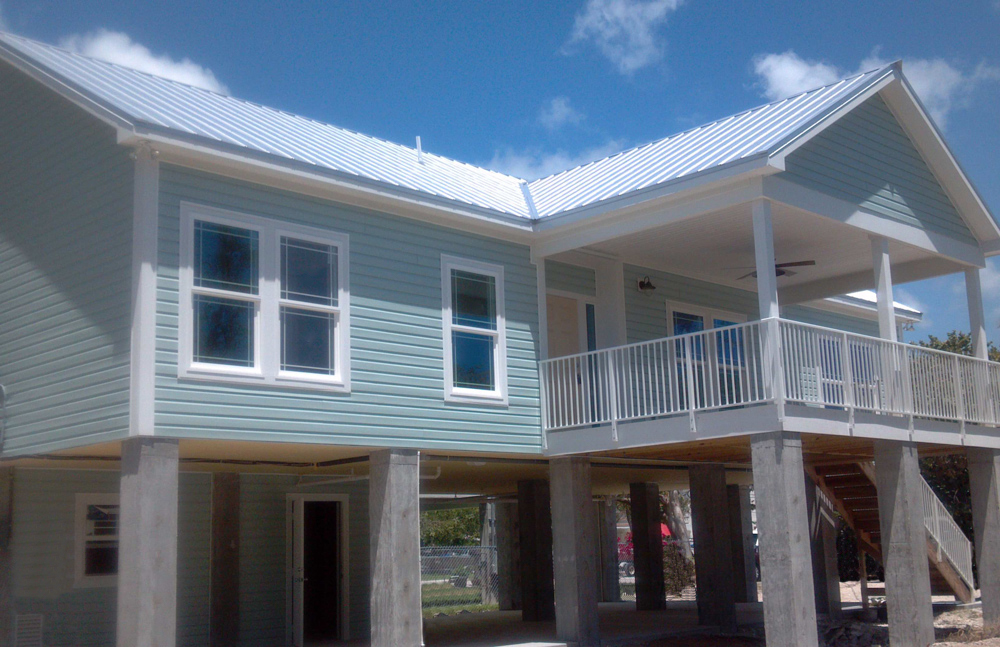 custom modular home exterior