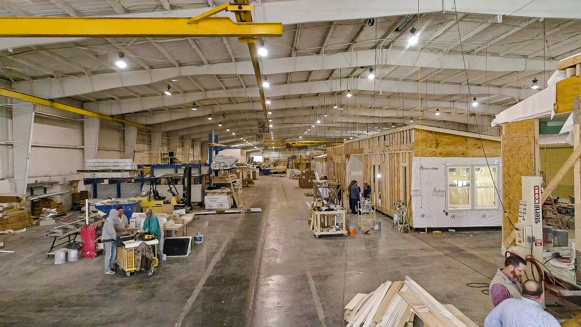 modular home factory image