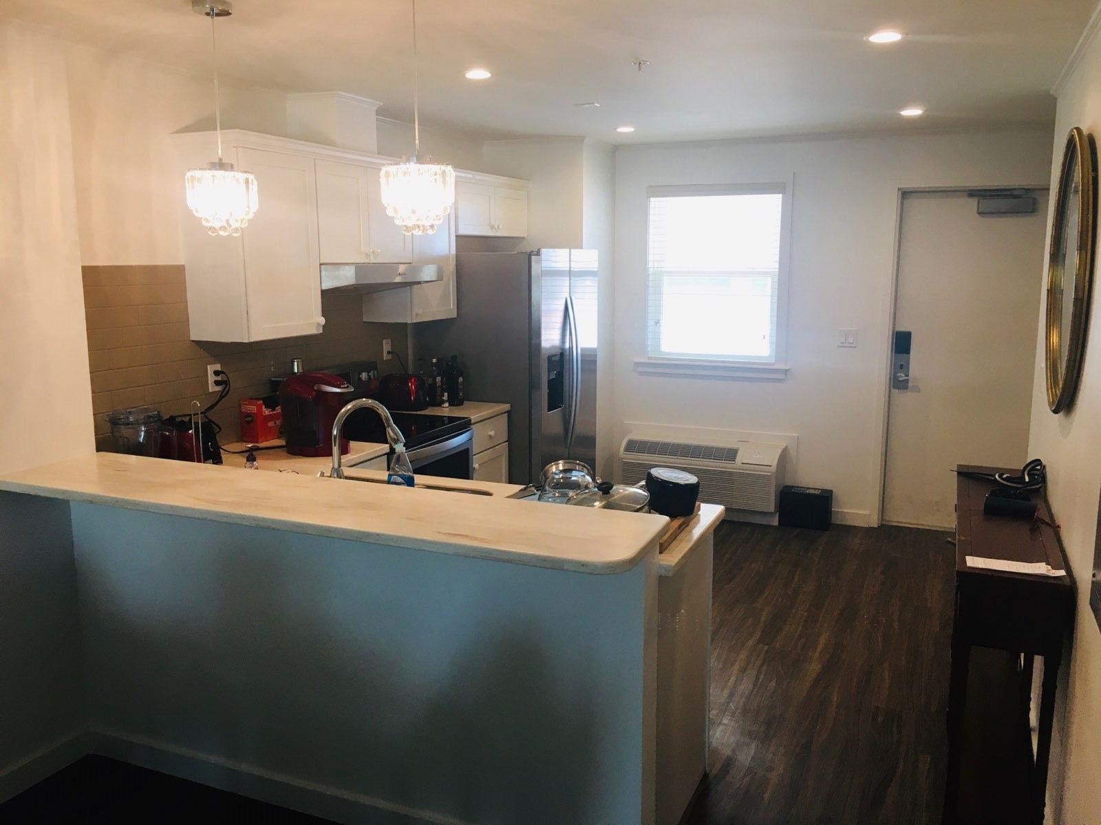 multi family modular home kitchen
