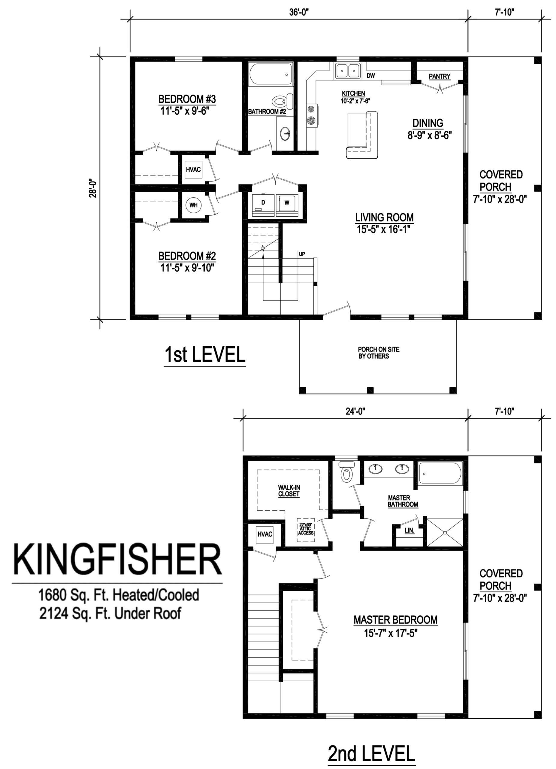 kingfisher modular home floorplan