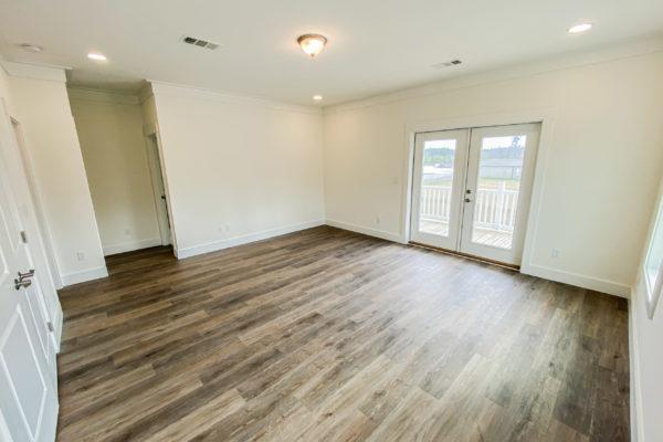 modular home master bedroom