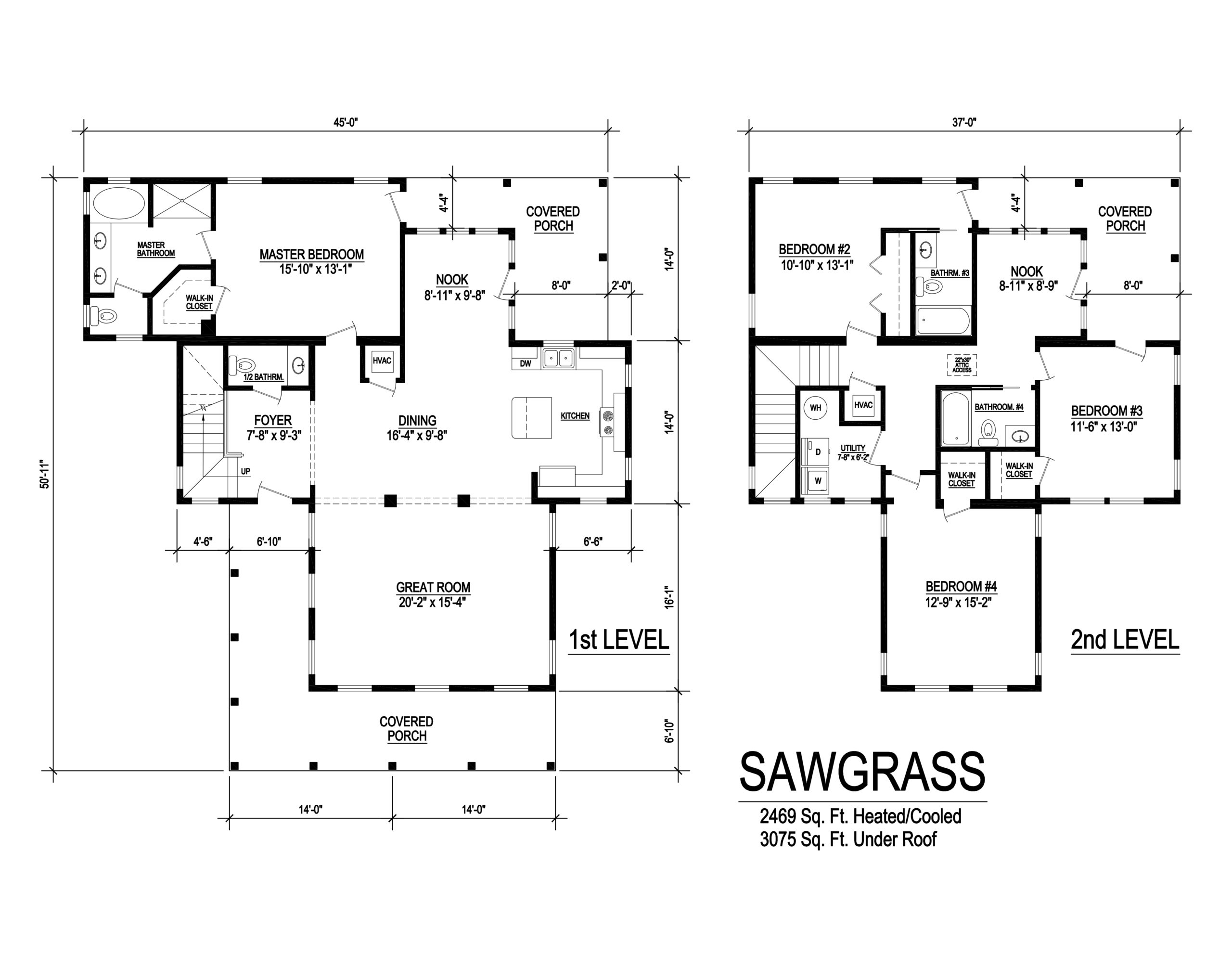 sawgrass modular home floorplan