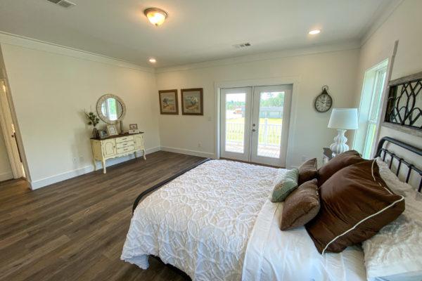 modular home bedroom