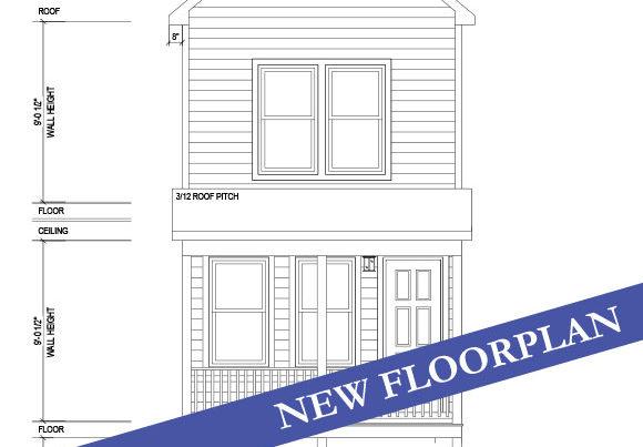 harbor hideaway modular home drawing